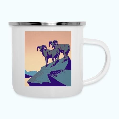 Vintage Capricorn Travel Poster - Camper Mug