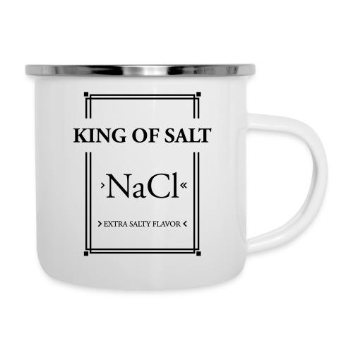 King of Salt - Emaille-Tasse