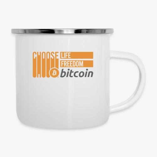 Bitcoin - Tasse émaillée