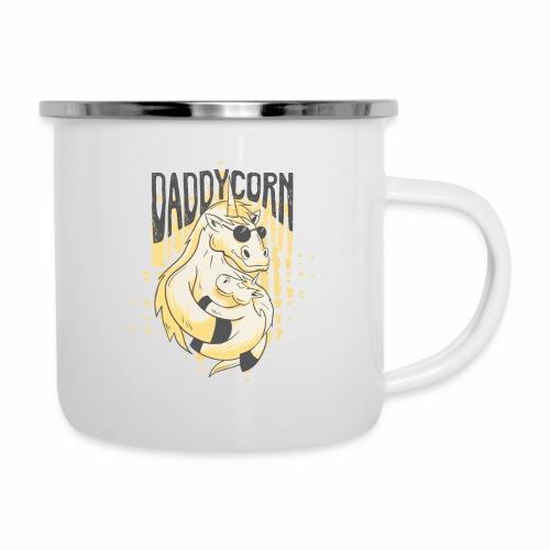Daddycorn - Einhörner für echte Papas - Emaille-Tasse