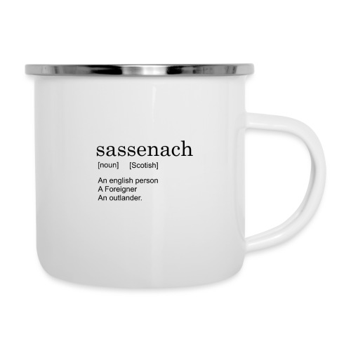 Sassench - Taza esmaltada