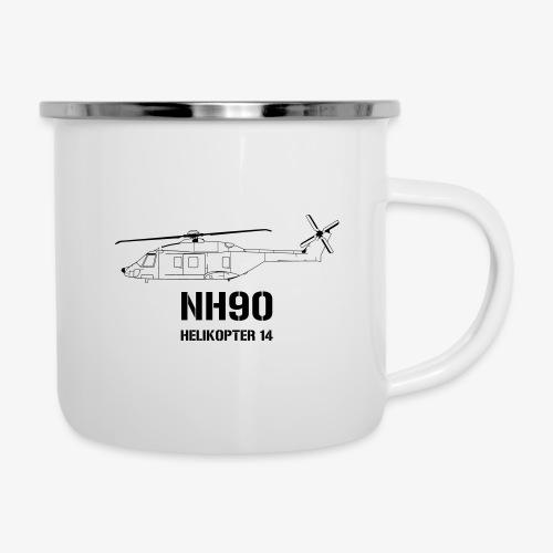 Helikopter 14 - NH 90 - Emaljmugg
