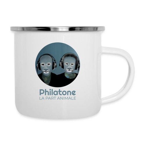 Philatone - La part animale - Tasse émaillée