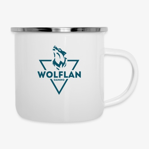 WolfLAN Logo Gray/Blue - Camper Mug