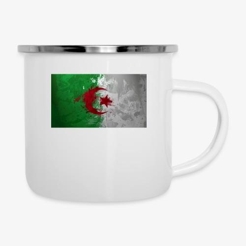 Drapeau Algérienne - Tasse émaillée