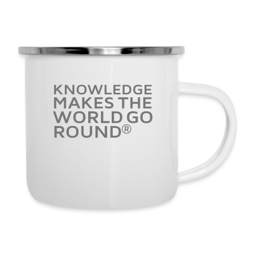 Knowledge - Emaille-Tasse