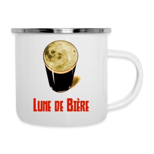 Logo Lune de Bière - Tasse émaillée