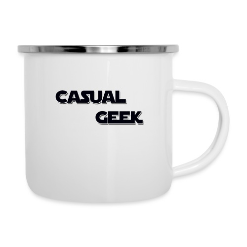 CasualGeek Standard Logo - Camper Mug