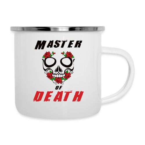Master of death - black - Kubek emaliowany