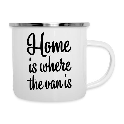 Home is where the van is - Autonaut.com - Camper Mug