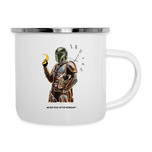 Never Feed After Midnight - Camper Mug