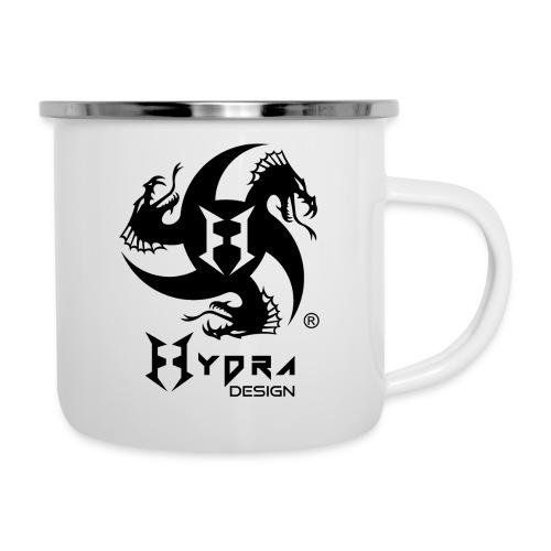 Hydra DESIGN - logo blk - Tazza smaltata