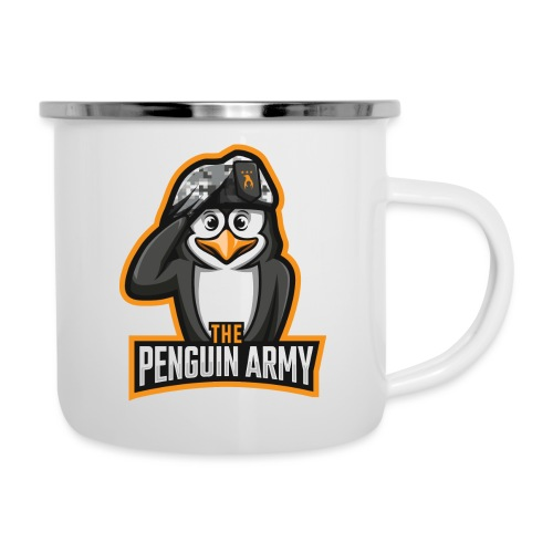 The Penguin Army Logo - Emaille-Tasse
