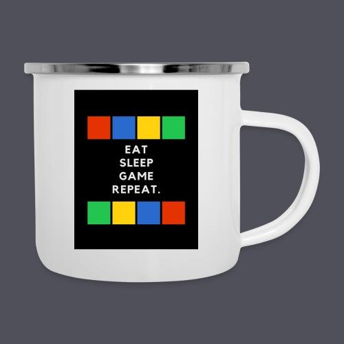 Eat, Sleep, Game, Repeat T-shirt - Camper Mug