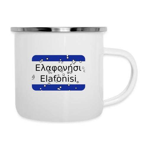 mg elafonisi - Emaille-Tasse