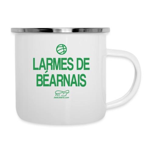 LARMES DE BÉARNAIS - Tasse émaillée