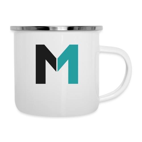 Logo M - Emaille-Tasse
