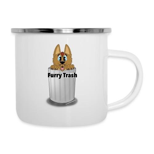 Furry Trash - Emaljekrus