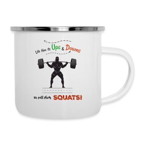 Do You Even Squat? - Camper Mug