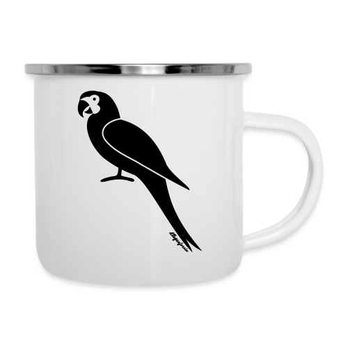 Papagei Klagenfornia - Emaille-Tasse