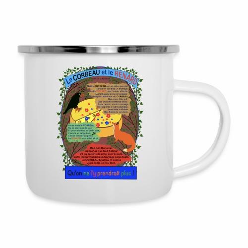 Le Corbeau et le Renard (Jean de la Fontaine) - Camper Mug