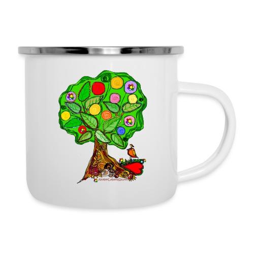 LebensBaum - Emaille-Tasse