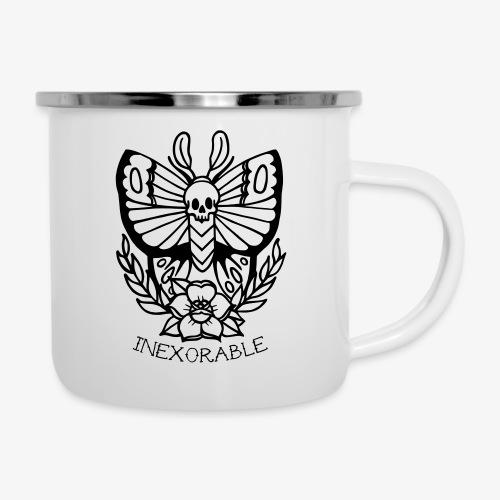 Traditional Tattoo Moth - Camper Mug