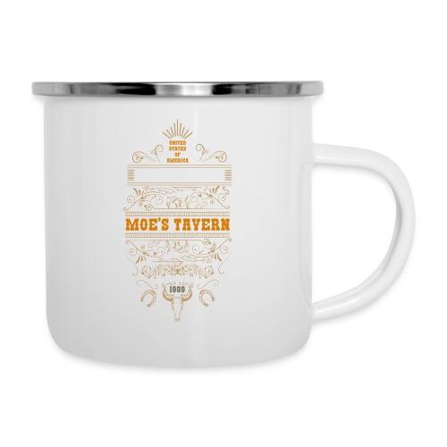 Springfield Moe's Tavern - Kubek emaliowany