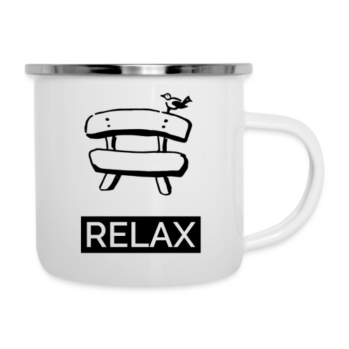 Bankerl Relax - Emaille-Tasse