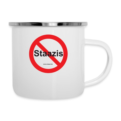 Staazis Verboten - Emaille-Tasse