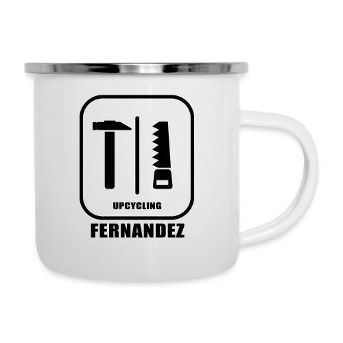 Upcycling-Fernandez - Emaille-Tasse