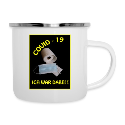 Covid19 - Emaille-Tasse