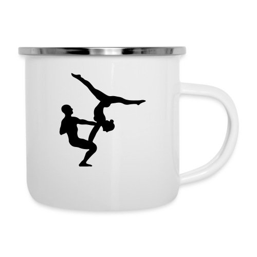 AcroYoga Counterbalance - Emaille-Tasse