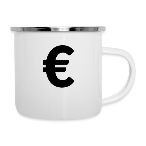 EuroBlack - Tasse émaillée