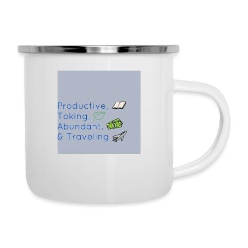 Productive, Toking, Abundant, & Traveling - Camper Mug
