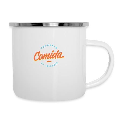 Comida Logo Original - Tasse émaillée
