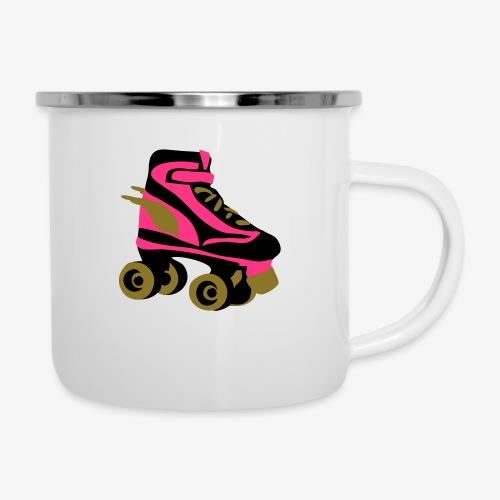 roller skate wings by patjila - Camper Mug