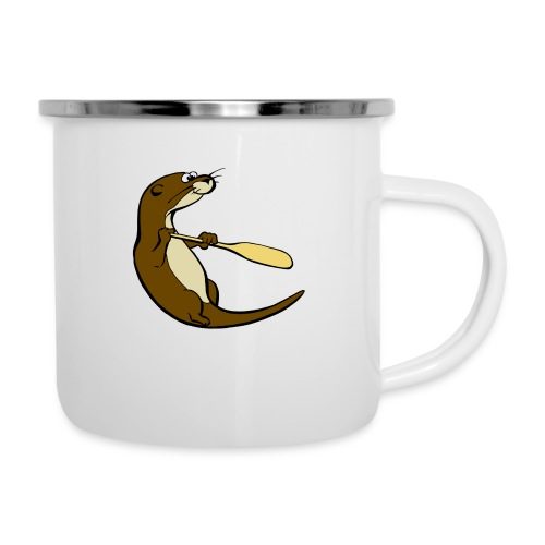 Classic Song of the Paddle otter logo - Camper Mug