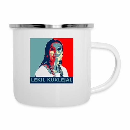 Lekil Kuxlejal - Taza esmaltada