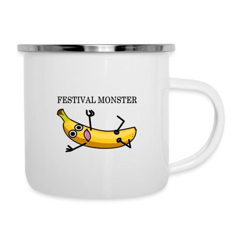 Festival Banane - Emaille-Tasse
