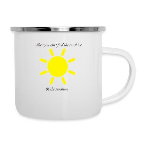 Be the sunshine - Camper Mug