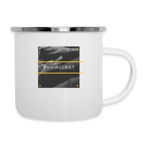 MeinGebiet - Emaille-Tasse