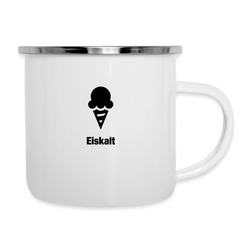 Eiskalt - Emaille-Tasse