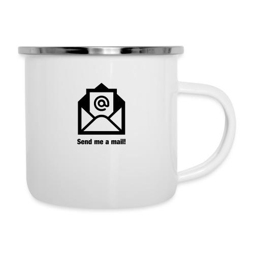 Mail senden - Emaille-Tasse