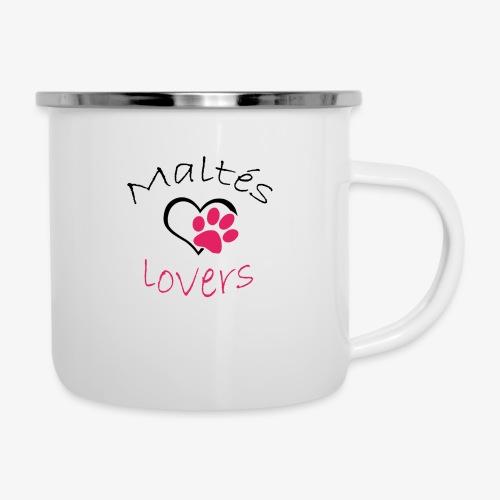 Maltes Lovers - Taza esmaltada