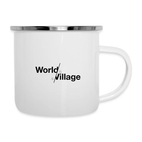 world is a village - Tasse émaillée