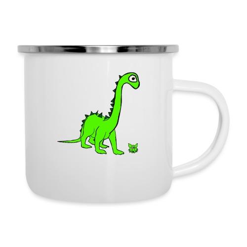 dinosauro - Tazza smaltata