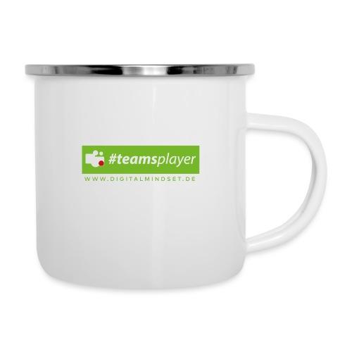 #teamsplayer - Emaille-Tasse