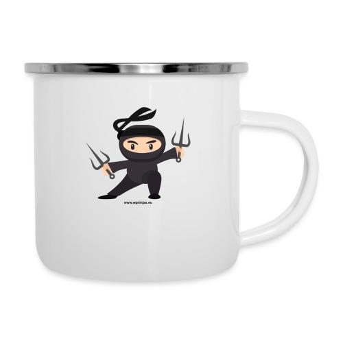 Ninja single 3zac - Emaille-Tasse
