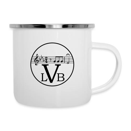 Beethoven Logo 02 - Emaille-Tasse